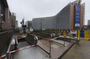 Bruxelles ressemblait à une ville  abandonnée.