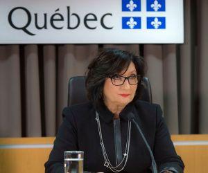 Personne n'oubliera jamais ce regard de la juge France Charbonneau.