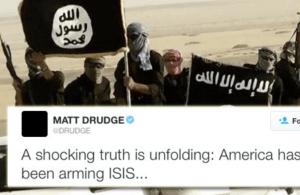 Matt Drudge sur  la propagande de l'État Islamique.