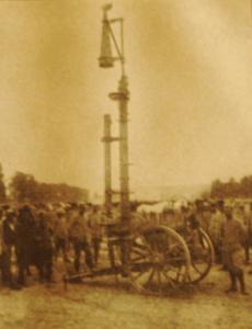 Première Guerre Mondiale-Périscope de surveillance territoriale de l'US Army en 1917.