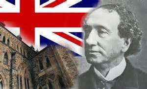 John A.MacDonald que l'on peut voir sur les billets de $10.Il disait à l'époque que permettre au petit peuple de voter était une mauvaise affaire  pour l'Emnpire Britannique et sa Monarchie.