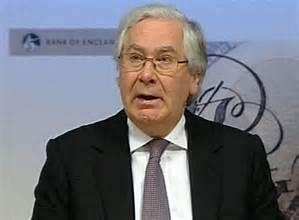 Le fameux Merv King,grand patron de la Banque d'Angleterre.