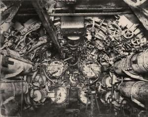 Salle des torpilles vers l'avant