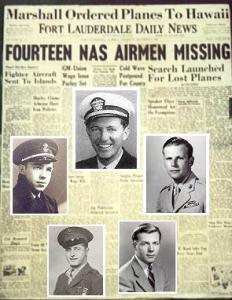 Le vol 19 était constitué de cinq avions torpilleurs de la marine américaine. En décembre 1945, il disparut en volant entre la Floride et les Bahamas. Les États-Unis envoyèrent un hydravion à la recherche des cinq torpilleurs, mais celui-ci explosa en plein vol et aucune trace des avions ne fut trouvée. C'est cette histoire qui est à l'origine de la réputation que cette région connaît maintenant, celle du triangle des Bermu