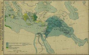 L'Empire assyrien...semble recouper les frontières actuelles de l'état Islamique.