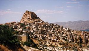 Emplacement de Derinkuyu en Cappadoce.