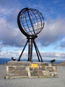 Globe du Nordkaap