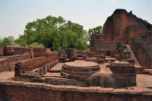Autre vue de l'université Nalanda.