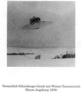 Une photo du Vril 7 durant l'hiver 1939.