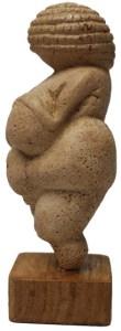 La Vénus de Willendorf.