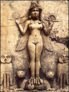 Ishtar,la déesse qui vient des étoiles.