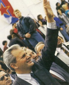 Sloboan Milocevic en 1990.