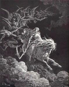 L'Ange de la Mort est au-dessus de nous!
