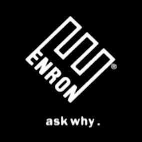 Le logo d'enron...prédestiné on dirait:Ask why (!)