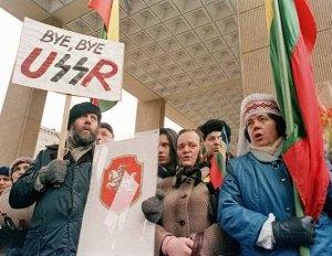 Le 8 décembre 1991:la mort de l'URSS est fêtée par ses citoyens.