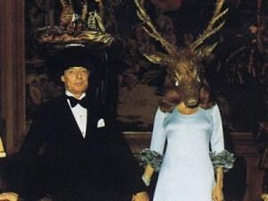 Le baron Guy de Rotschild avec la baronne Marie  Hélène de Rotschild.