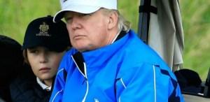 D'après Donald, Barron est un «sportif né», il adore jouer au golf, au baseball, ainsi qu'au tennis.