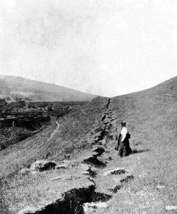 San Andreas en 1906.
