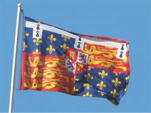 Le drapeau de John of Gaunt fut ressorti en 2006 pour le Jour de l'Empire (Imperial Day)