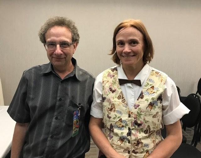 Allan Weiss et Michèle