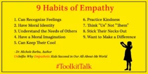 9 habits of empathy