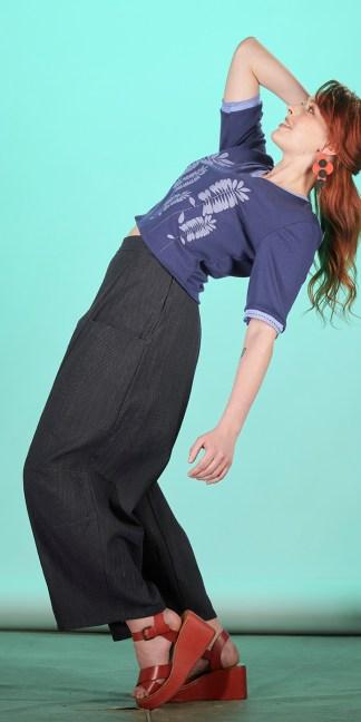 pantalon femme japonais fait main