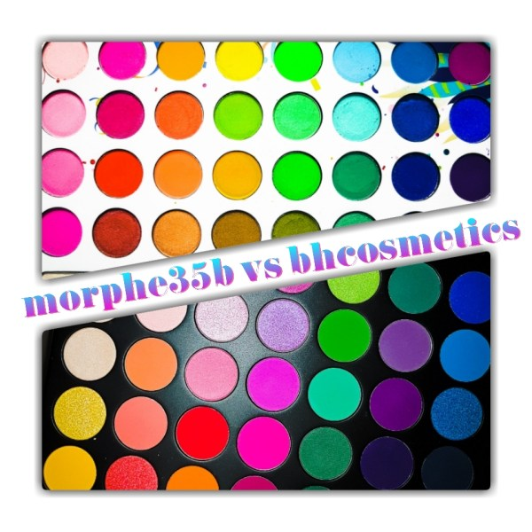 Morphe 35B vs BH Cosmetics Take Me Back To Brazil Palette