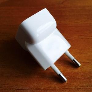 Adattatore presa a muro alimentatore Apple