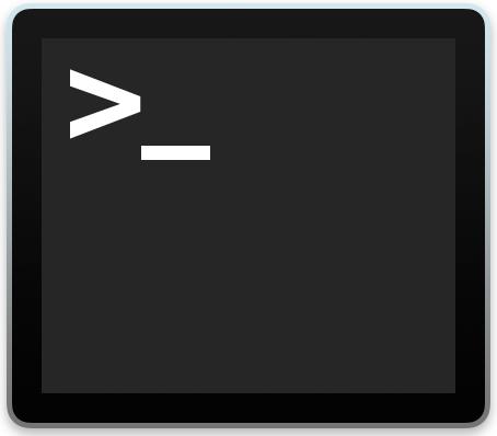 Icona Terminale OS X
