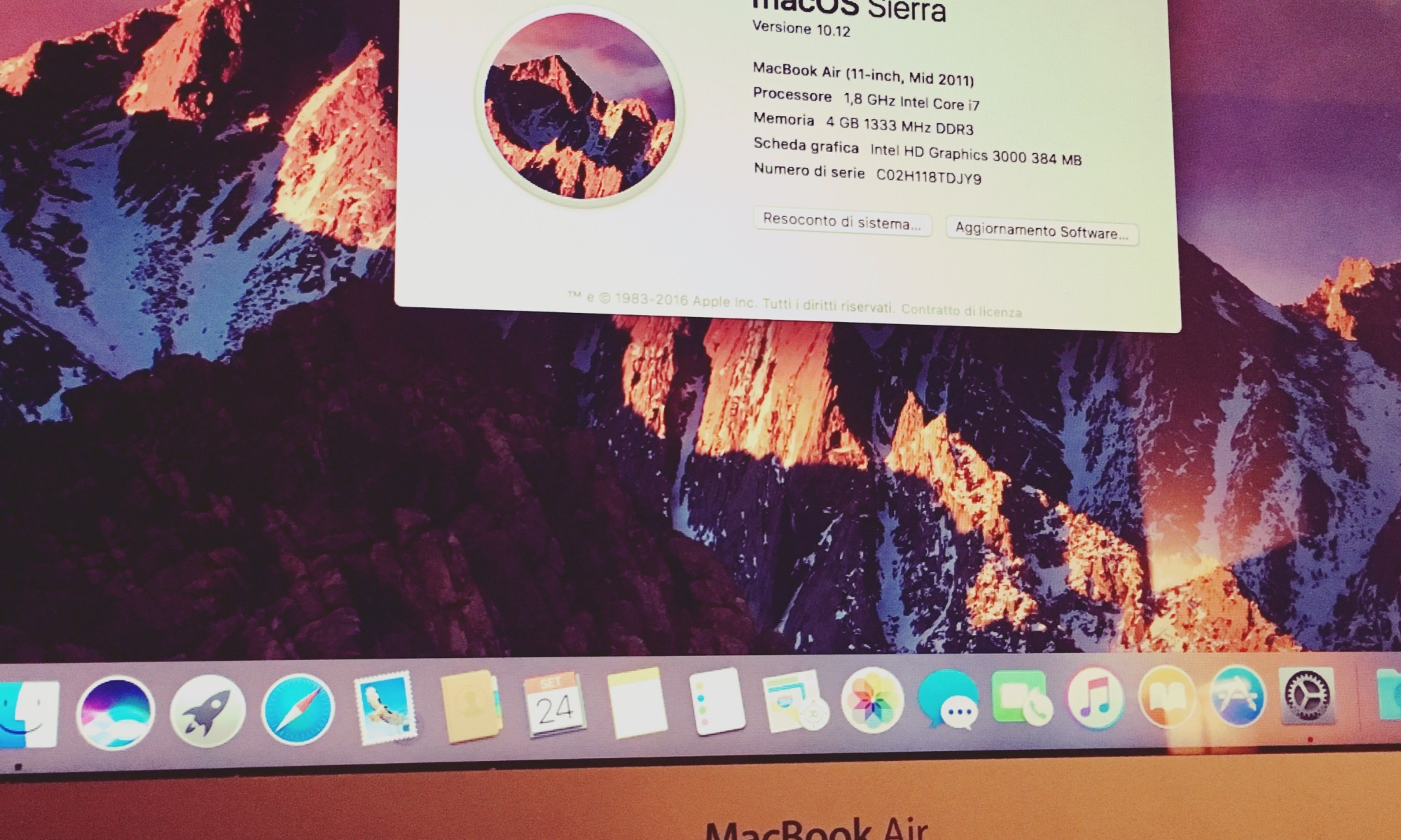 Welcome to macOS Sierra