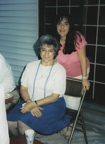 Aunt Kaye and Laura, 1987. Courtesy of Danny Nigro