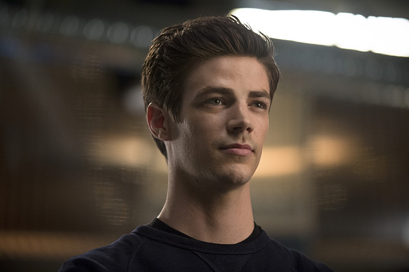 """The Flash -- """"Going Rogue"""" -- Image FLA104A_0307b -- Pictured: Grant Gustin as Barry Allen -- Photo: Cate Cameron/The CW -- © 2014 The CW Network, LLC. All rights reserved."""