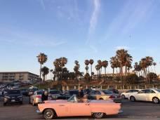 Pink Car in Santa Monica