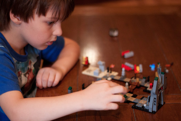 Day 257  Lego Heroica  Manual  ISO1600  f/1.8  1/100sec
