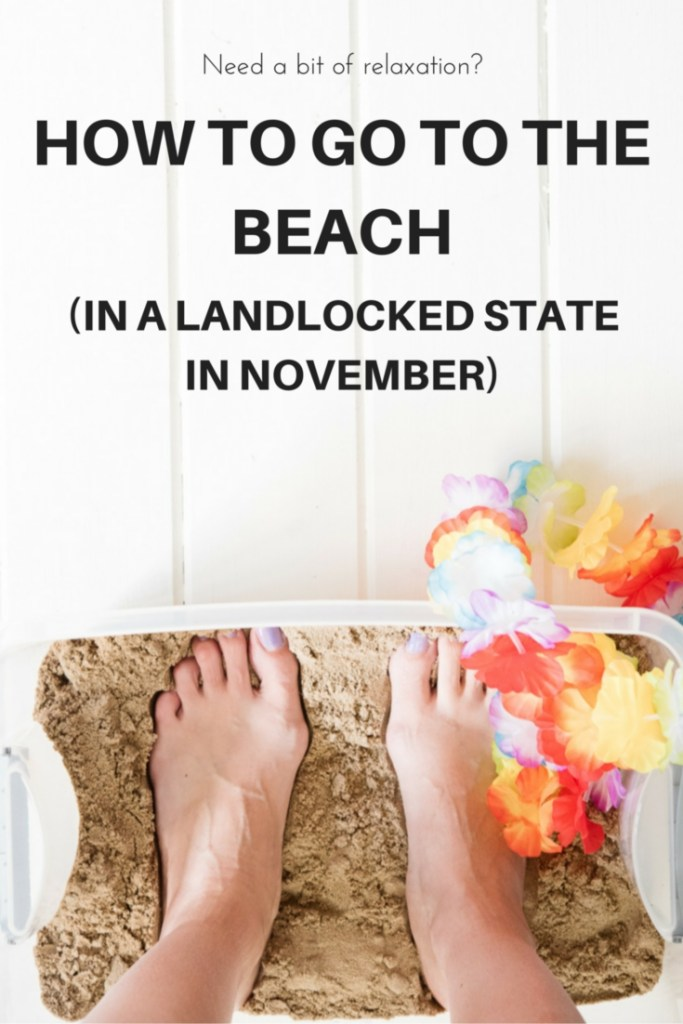 Need relaxation and INSTANT stress-relief? What if you live in a landlocked state and it's mid-winter? Let me show you one way that works!