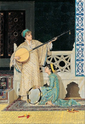 Two Musician Girls by Osman Hamdi Bey