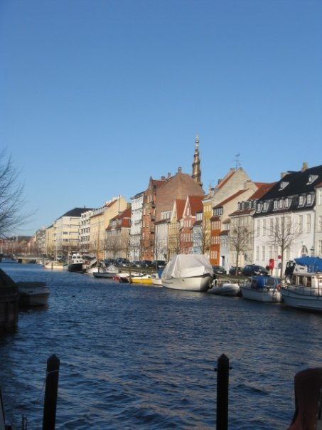 The canals of Christianshavn.