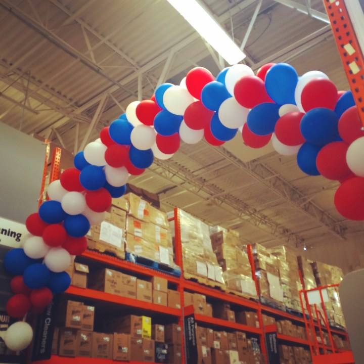 Happy Labor Day @ Home Depot.
