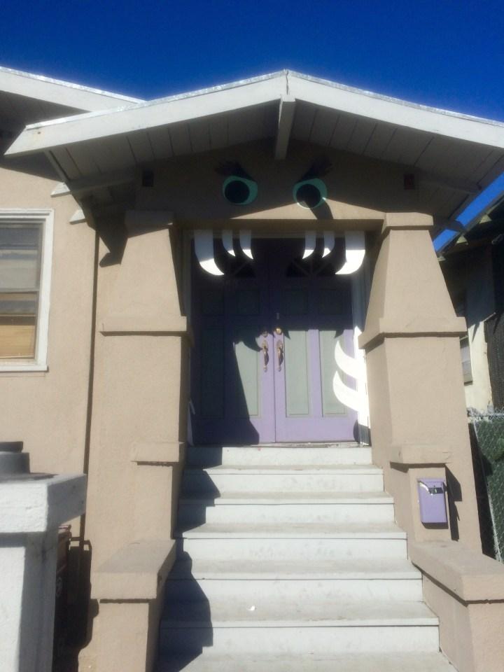 Cute monster house.