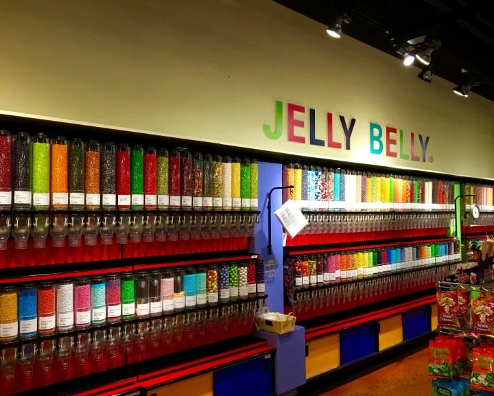 Jelly Belly.  A Southern Season at University Place.