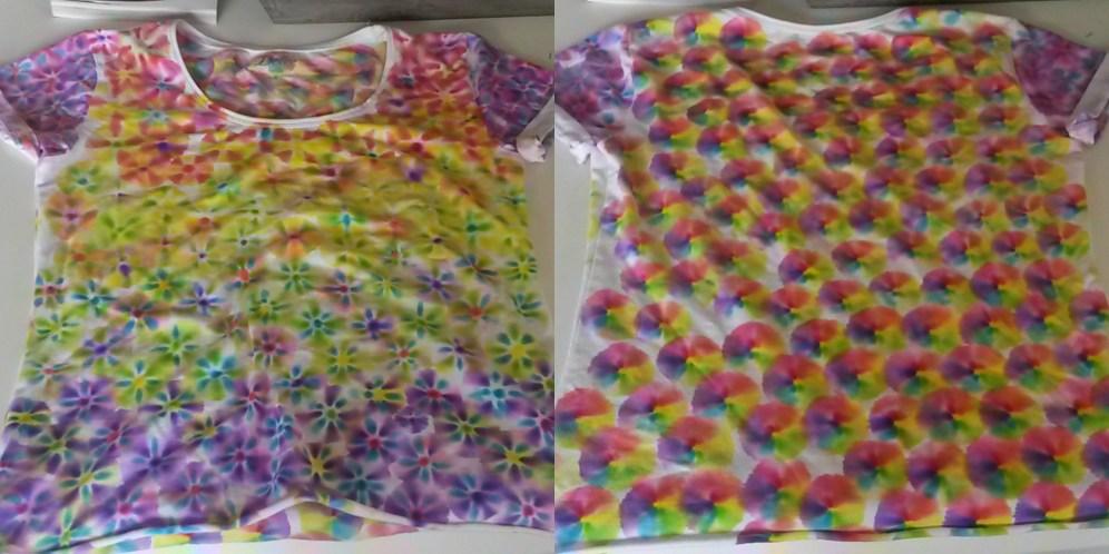 Pride shirt collage