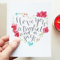 best valentine's day cards bushel and a peck