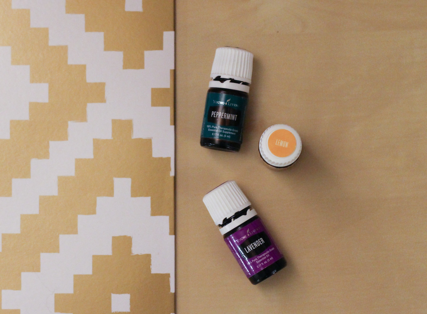 Must-Have Essential Oils for Spring Young Living Lavender Lemon Peppermint