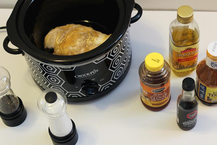 Honey Sesame Chicken Asian Crockpot Recipe