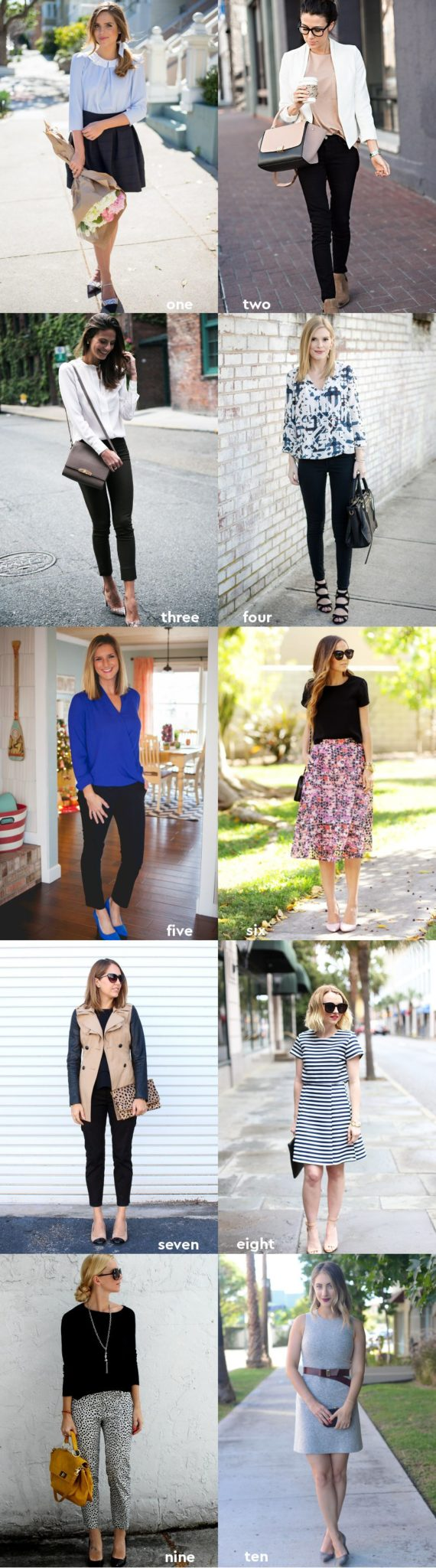 Business Casual Style Inspiration Wear to Work