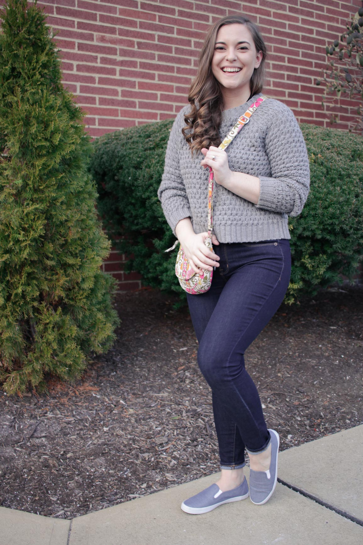 How to Style a Cropped Sweater for the Weekend / Michelle Amanda Wilson