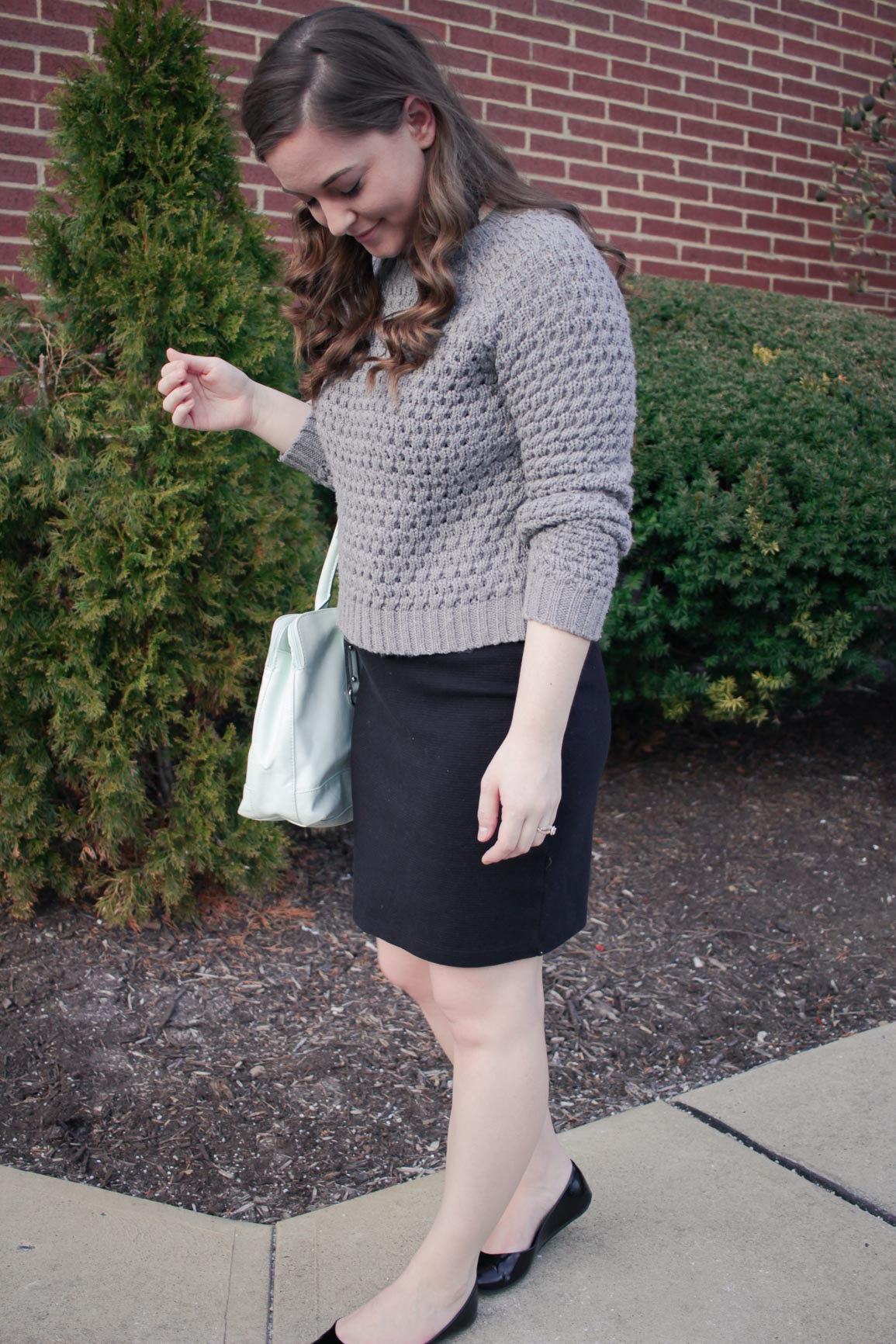 How to Style a Cropped Sweater for Work / Michelle Amanda Wilson