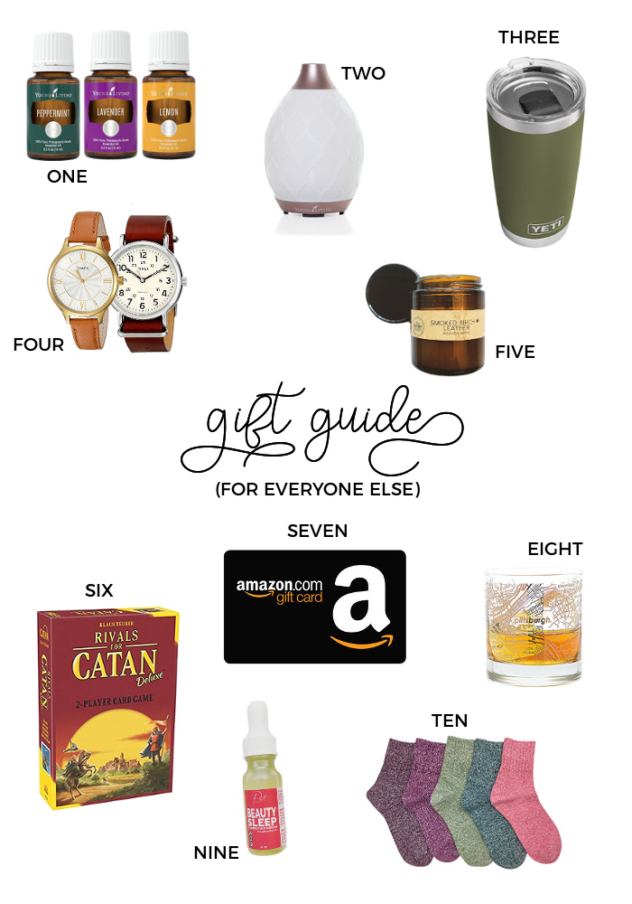 2017 Christmas Gift Guides - For Everyone Else