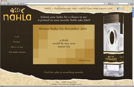 Nahla website