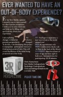 3RD Person Perspective Flyer | Tools: Illustrator CS6